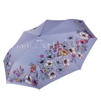 Женский зонт меняющий цвет при намокании Три Слона ( полный автомат ) арт. L3822-43