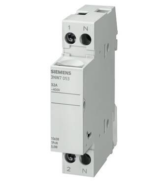 Модульний тримач для циліндричних запобіжників 3NW7013, Siemens