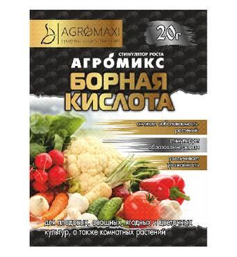 "Агромикс ""Борная кислота""  за 10 г"