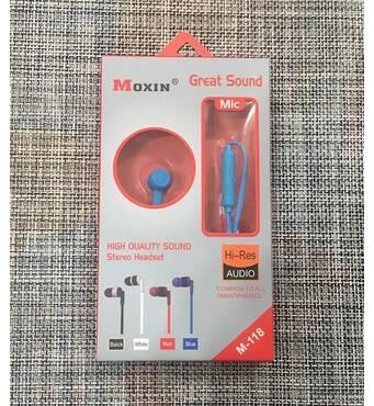 Навушники вакуумні з мікрофоном / М-118