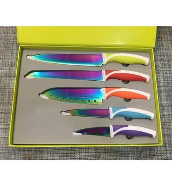 Набір кухонних ножів Messer-Set Titanium 5шт / АХ54 /24