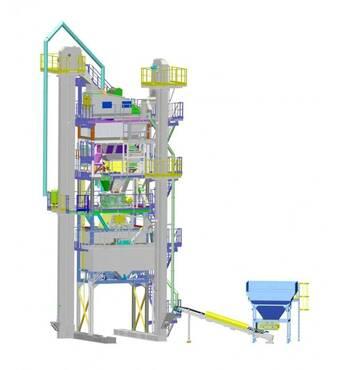 Асфальтосмесительная установка КДМ 207 купить в Черновцах