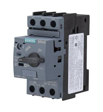 Автоматический выключатель для защиты электродвигателя, 3RV2021-4PA10, Siemens