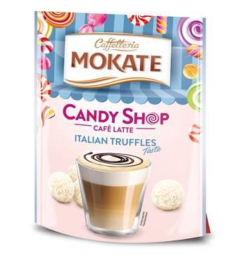 Капучино Mokate Caffetteria Candy Shop Cafe Latte Italian Truffle, 110г.