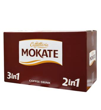 """Розчинний напій в стиках Mokate """"2 в 1"""", 14г, 50шт*12 уп."""