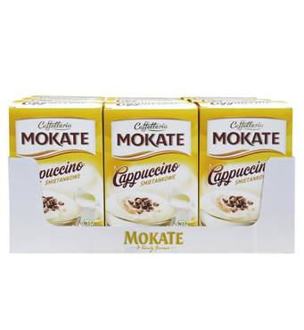 Капучино Mokate Сaffetteria Cappuccino Cream, сливки, 15гx10 шт, 9уп.
