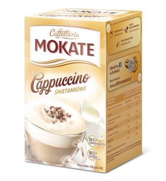 Капучіно Mokate Сaffetteria Cappuccino Cream, із смаком вершків, 15гx10 шт