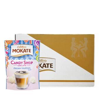 Кава Латте Mokate Caffetteria Candy Shop, італійський трюфель, 110г, 10 уп.