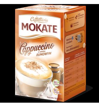 Капучіно Mokate Сaffetteria Cappuccino Rum, 15гx10 шт