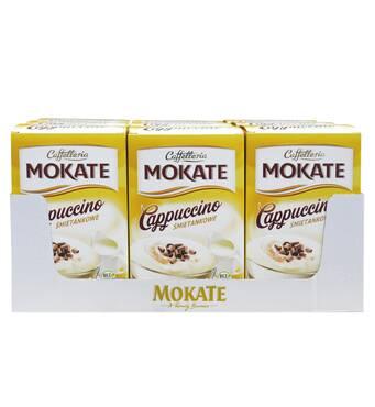 Капучино Mokate Сaffetteria Cappuccino Vanilla, 15г*10шт, 9 уп.