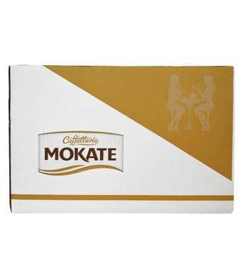 Кава Латте Mokate Caffetteria Candy Shop, французькі макарони, 110г, 10 уп.