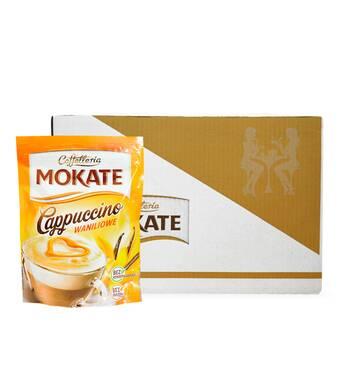 Капучіно Mokate Сaffetteria Cappuccino Vanilla, 110г*10 уп.