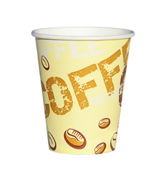"""Паперова скляночка для вендинга """"Coffe Сoffe """", 175 мл"""