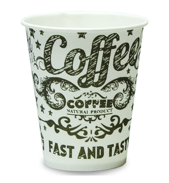 "Паперова скляночка для вендинга ""Morning Coffee"", 175 мл"