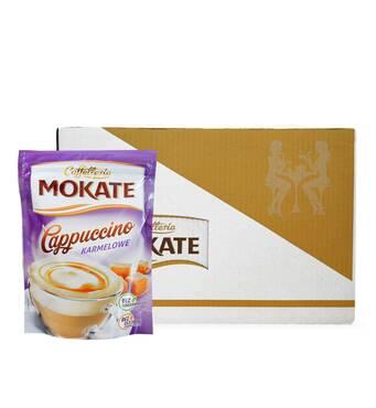 Капучіно Mokate Сaffetteria Cappuccino Caramel, 110г*10 уп.