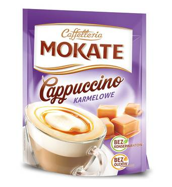 Капучіно Mokate Сaffetteria Cappuccino Caramel, 110 г