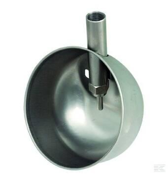 Мисочная поилка для подсвинков из нержавеющей стали Farma (140х80 мм)