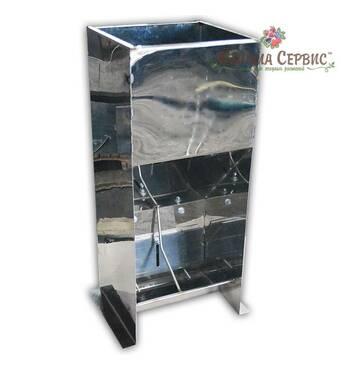 Годівниці для поросят (від 10 - 50 кг) для дорощення 2 секції (нержавіюча сталь)
