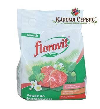 Добриво для полуниці Florovit (Флоровит), упаковка 1 кг