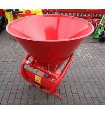 Розкидання мінеральних добрив навісної Jar - met 650 кг