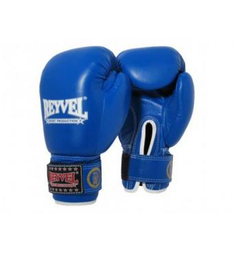 Рукавички боксерські шкірозамінник REYVEL 10 унцій