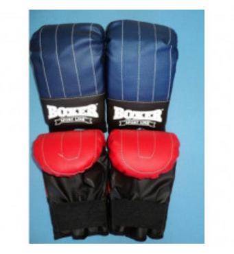 Рукавички (биточки) Boxer тренувальні Еліт вініл. Україна