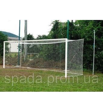 Ворота футбольні професійні (алюмінієві), 7.32 х 2.44 м, Євро Профіль (розбірні)