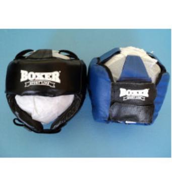 Шлем боксерский Boxer кожа