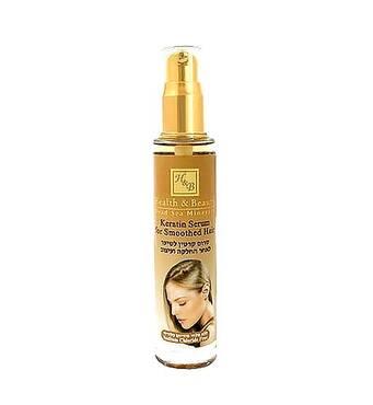 Сыворотка для волос с кератином, после выпрямления или укладки Health and Beauty Keratin Serum for Smoothed Hair 50 мл.