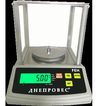 Весы лабораторні Днепровес FEH 1000