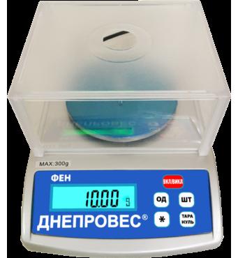 Весы лабораторные Днепровес FEH 600L