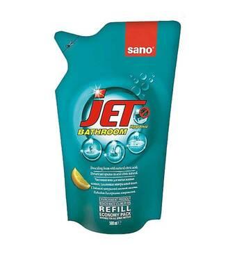 Пена для мытья акриловых поверхностей Sano Jet (экопак), 500 мл