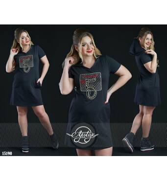 Сукня - 15190 (чорний)