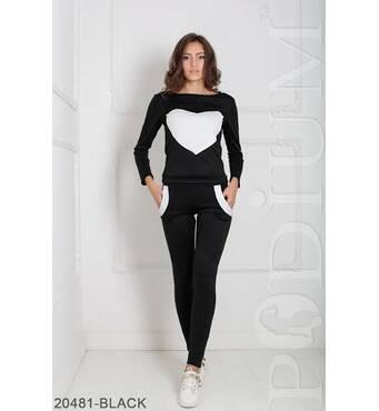 Жіночий спортивний костюм Williams (BLACK)