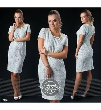 Платье - 12086 (молоко)
