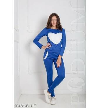 Женский спортивный костюм Williams (BLUE)