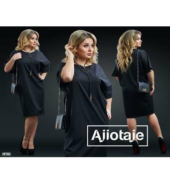 Платье - 19705 (черный)