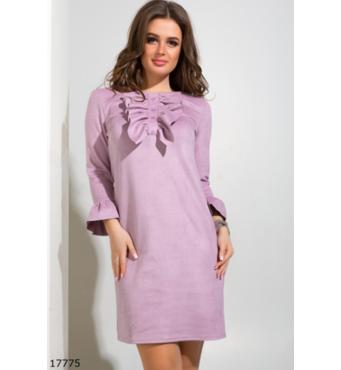 Женское платье 17775 розовый