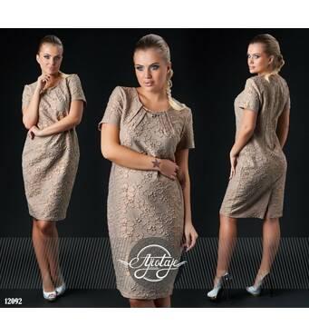 Сукня - 12092 (Мокко)