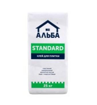 Клей для плитки Альба Standart