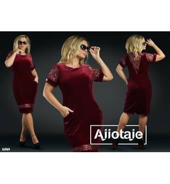 Платье - 16969 (красный)