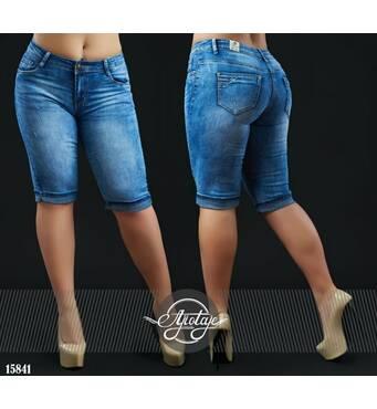 Шорты - 15841 (джинс)