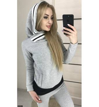 Спортивний костюм 26752-2 сірий Весна 2018 Україна