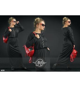 Платье - 16719 (черный)