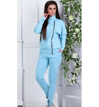 Спортивный костюм 26786-1 голубой Весна 2018 Украина