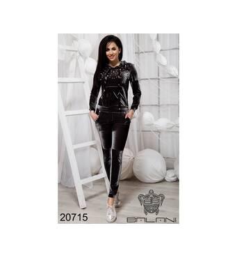 Шикарный спортивный костюм  (серый) - 20715