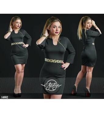 Платье - 14882 (черный)