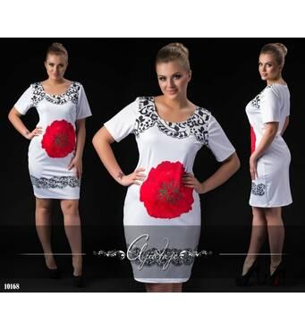 Сукня - 10168 (білий)