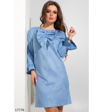 Жіноча сукня 17776 блакитний
