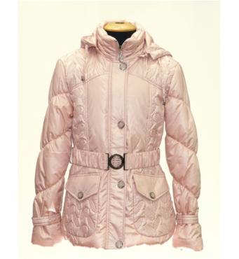 Куртка демісезонна для дівчинки на тонкому холлофайбере